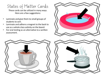States of Matter Unit Resources