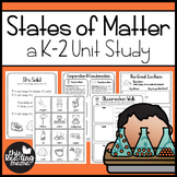 States of Matter Unit Study for K-2 Learners