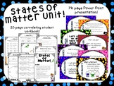States of Matter Unit & Workbook