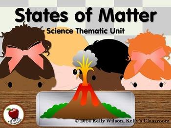 States of Matter BUNDLE