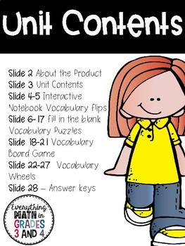 States of Matter Vocabulary Activities