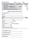 States of Matter Worksheet w/answers