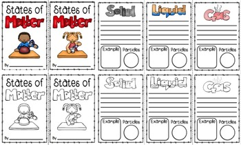 States of Matter Booklets