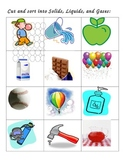 States of Matter activities for Solids, Liquids, and Gases