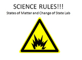 States of Matter and Change of State Lab
