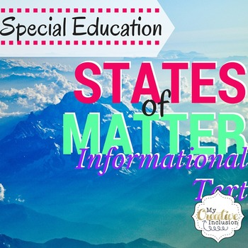 Science for Special Education- States of Matter