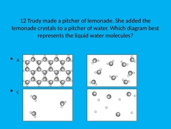States of Matter and Periodic Table Review Questions