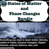States of Matter and Phase Changes Unit Bundle