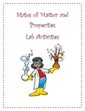 States of Matter and Properties Lab Activities