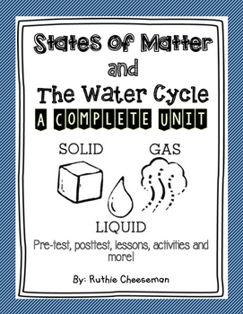 STEM: States of Matter and The Water Cycle
