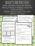 States of Matter + Changes PREZI and Notes Sheet (English, Spanish, SPED, ESOL)