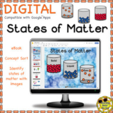 States of Matter Activity Digital Printable Science Non-Fiction