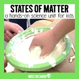 States of Matter for Kids {A Unit on Solids, Liquids, and Gases}