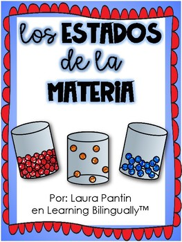 States of Matter in Spanish