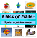 States of Matter - What is a solid, liquid, gas powerpoint with answers