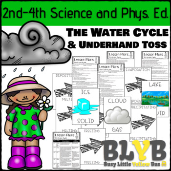 States of Matter/Water Cycle: A Cross-Curricular Lesson for P.E. and Science