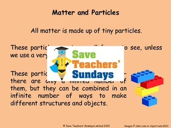 States of Matter Unit (8 lessons)