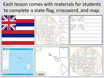 States of the USA - Alabama to Montana - Activity Sheets