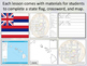 States of the USA - Alabama to Montana - Activity Sheets