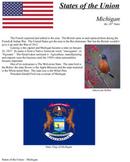 States of the Union - MI, FL, TX, IA, WI