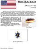 States of the Union - MA, MD, SC, NH, VA