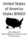 States of the United States of America BINGO!