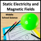 Static Electric and Magnetic Fields NGSS MS-PS2-3 and MS-PS2-5 and Utah SEEd 7th