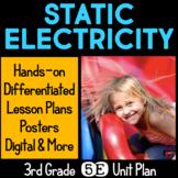 Static Electricity 5E Unit Plan for Third Grade
