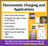 Static Electricity: Charging by Induction, Contact and Friction - PPT Lesson