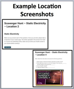 Static Electricity - Device-Based Scavenger Hunt Activity - Let the Hunt begin!