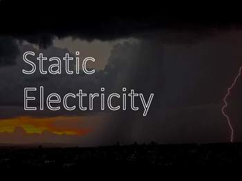 Static Electricity Editable Presentation