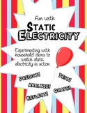 Static Electricity- Electricity STEM Challenge