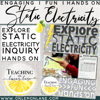 Static Electricity Experiment / Inquiry / Explore / Hands On Lab