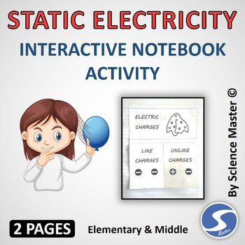 Static Electricity Interactive Notebook Activity