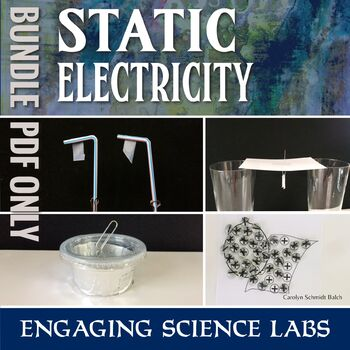 Static Electricity Labs and Experiments: Bundle of PDF Instructions ONLY