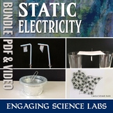 Static Electricity Labs and Experiments: Bundle of PDF and