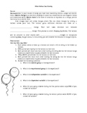 Static Electricity Mini Lab/Activity Physical Science