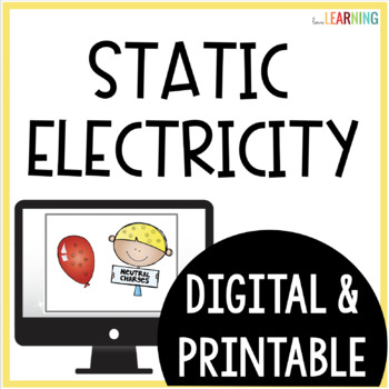 Static Electricity PowerPoint Lesson and Guided Notes