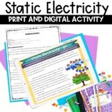 Static Electricity Reading Activity