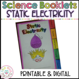 Static Electricity Investigation Tabbed Booklet