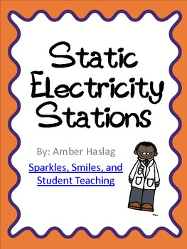 Static Electricity Science Stations by SSSTeaching | Teachers Pay ...