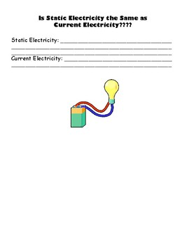 Static Electricity Student Note & Teacher Version