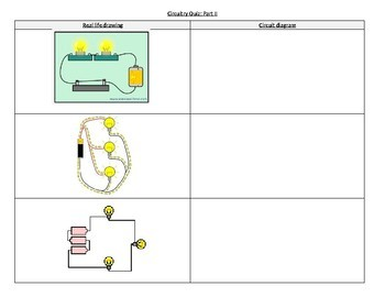 Static Electricity and Circuitry Quiz