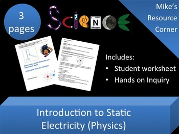 Static Electricity and Laws of Electric Charges