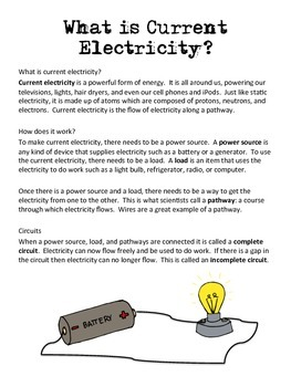 Static and Current Electricity