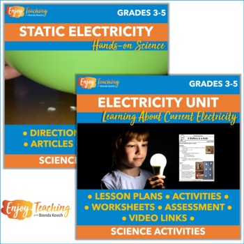 Static and Current Electricity Activities for Fourth Grade
