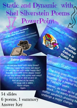 Static and Dynamic Character PowerPoint