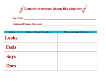 Static and Dynamic Chart for any story