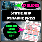 Static and Dynamic Lesson with Short Film/Prezi