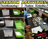 Station Activities: Stoichiometry - A set of 5 learning stations!